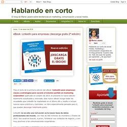 eBook: LinkedIn para empresas (descárgatelo gratis)