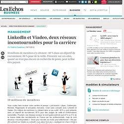 LinkedIn et Viadeo, deux réseaux incontournables pour la carrière - Les Echos Business