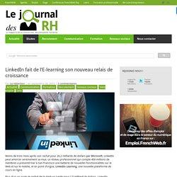 LinkedIn fait de l'E-learning son nouveau relais de croissance