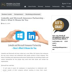 LinkedIn & Microsoft Partnership – What It Means for You?