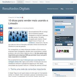 10 Dicas de LinkedIn para Negócios - Resultados Digitais