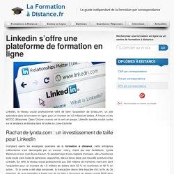 Linkedin rachète lynda.com