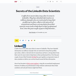 Secrets of the LinkedIn Data Scientists