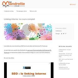 Linking Interne [SEO] Cours Complet LA MANDRETTE