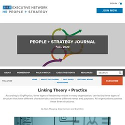 Linking Theory + Practice