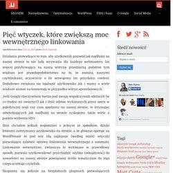 Pięć wtyczek, które zwiększą moc wewnętrznego linkowania - JacekJagusiak.pl