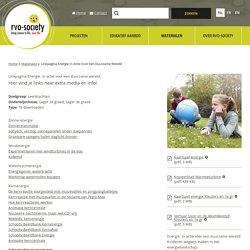 Linkpagina Energie. In actie voor een duurzame wereld.