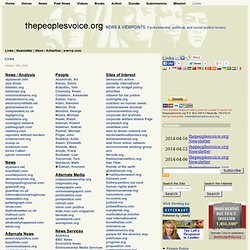 the peoplevoice.org Links