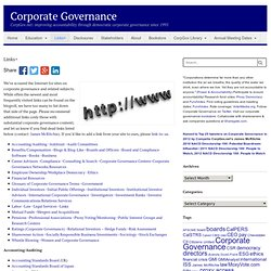 links+Corporate Governance