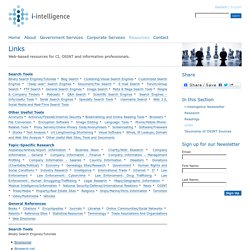 Links – i-intelligence
