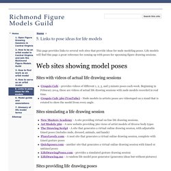 5. Links to pose ideas for life models - Richmond Figure Models Guild