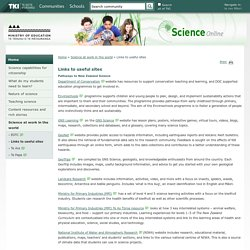 Links to useful sites / Science at work in the world / Home - Science Online