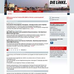 Linksfraktion Düsseldorf: Aktuell