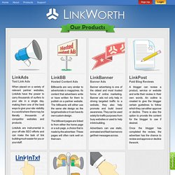 Search Engine Marketing - Text Link Advertising
