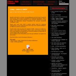 Linky: lettre à ERDF