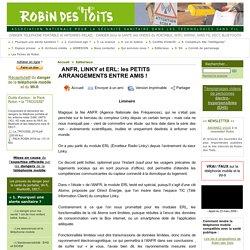 ANFR, LINKY et ERL: les PETITS ARRANGEMENTS ENTRE AMIS !