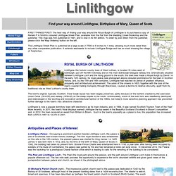 Linlithgow town map - R P A Smith Street Plans