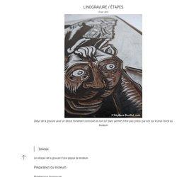 Linogravure / étapes