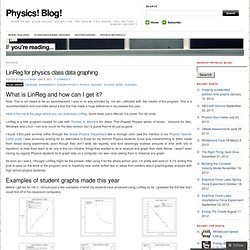 LinReg for physics class data graphing « Physics! Blog!