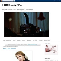 LINTERNA MÁGICA: actores y actrices