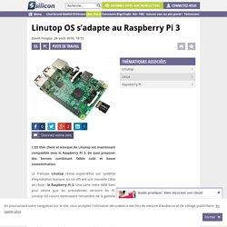 Linutop OS s'adapte au Raspberry Pi 3