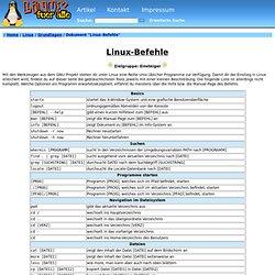 Befehle Linux
