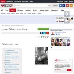Linux - Débuter sous Linux
