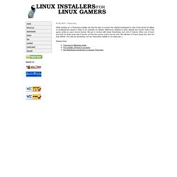 linux installers for linux gamers