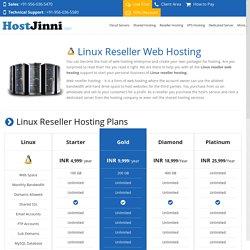 Reseller Hosting Plans on Linux