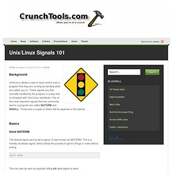 Unix/Linux Signals 101