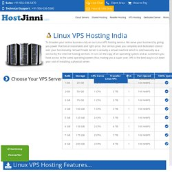 Get fast service on Linux VPS Web Hosting Server