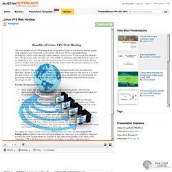 VPS Hosting for Linux web Hosting server: HostJinni