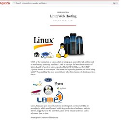 All About Linux Web Hosting