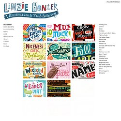 Welcome : Linzie Hunter, Illustration & Hand Lettering