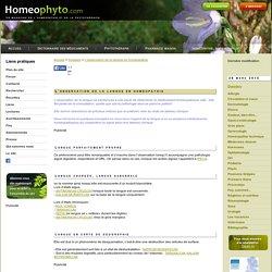 Líobservation de la langue en homéopathie