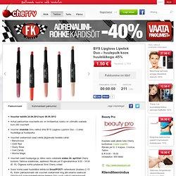 BYS Lipgloss Lipstick Duo-huulepulk -45% -