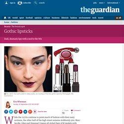 Gothic lipsticks