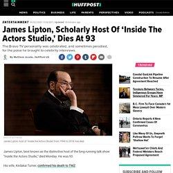 James Lipton, Scholarly Host Of 'Inside The Actors Studio,' Dies At 93