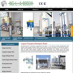 Liquid Oxygen Nitrogen Plants, Industrial Oxygen Nitrogen Gas Plant