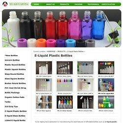Buy E-Liquid Plastic Bottles Online