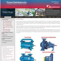 Liquid Ring Pumps - Screw Pump