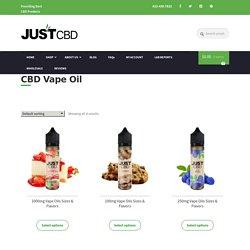 Buy CBD E Liquid - CBD Vape Juice Blue Razz - Just CBD Store