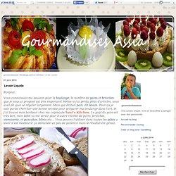 Levain Liquide - gourmandiseassia