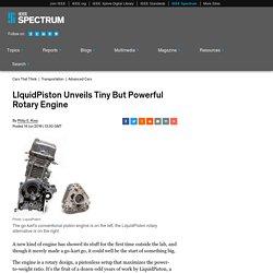 LIquidPiston Unveils Tiny But Powerful Rotary Engine