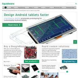 Liquidware : Open Source Electronics