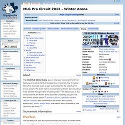 2012 MLG Pro Circuit/Winter/Arena