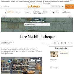 Lire à la bibliothèque - La Croix