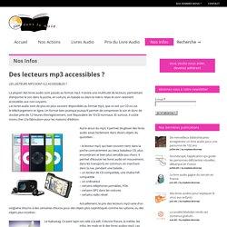 Lire Dans le Noir » Deslecteurs mp3 accessibles ?