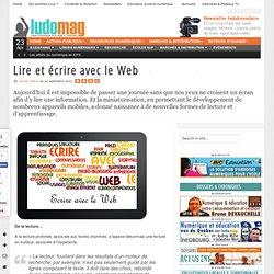 Lire et écrire avec le Web