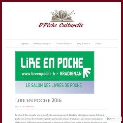 Lire en poche 2016 – D'Pêche Culturelle